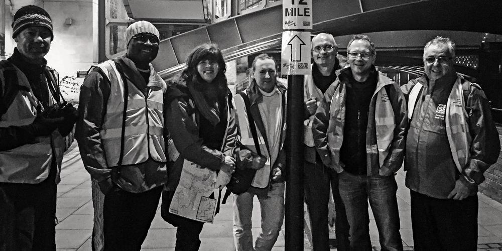 The 2016 Big Issue London Night Walk